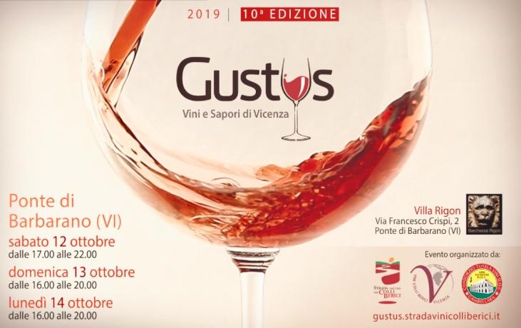 Photo of Gustus, la vetrina dei Colli Berici