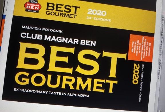Ecco la nuova copertina di Best Gourmet 2020 in abito da sera