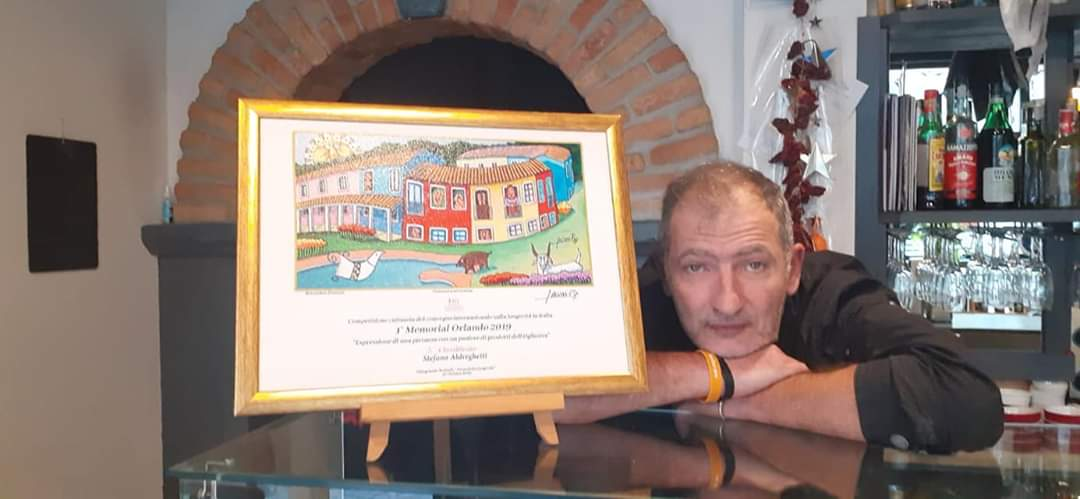 Lo Chef Stefano Aldreghetti vince il Primo Memorial Orlando in Sardegna