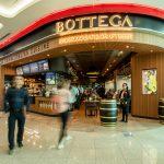 Bottega porta lo stile italiano nell'aeroporto più trafficato del mondo