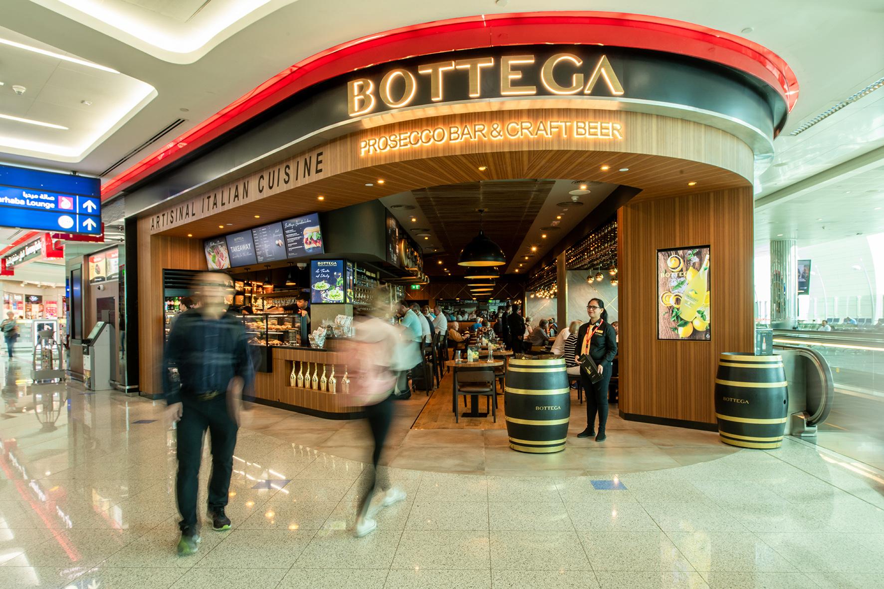 Photo of Bottega porta lo stile italiano nell'aeroporto più trafficato del mondo