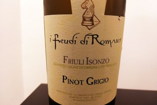 I Feudi di Romans e il Pinot Grigio