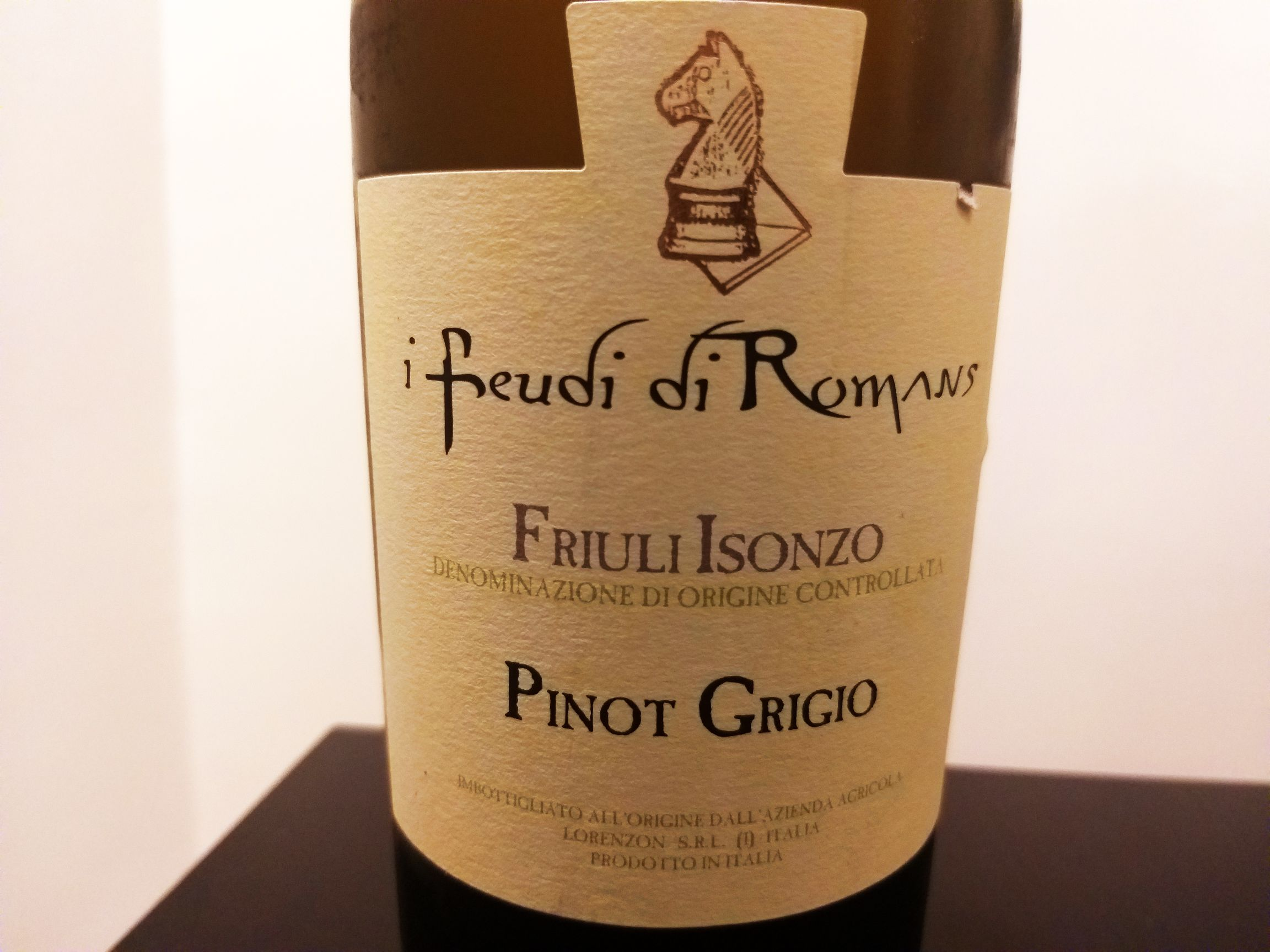 Photo of I Feudi di Romans e il Pinot Grigio