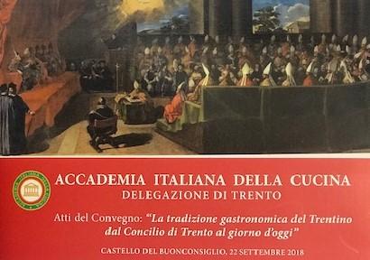 Sull'arte della cucina in Trentino, gli atti di un Convegno