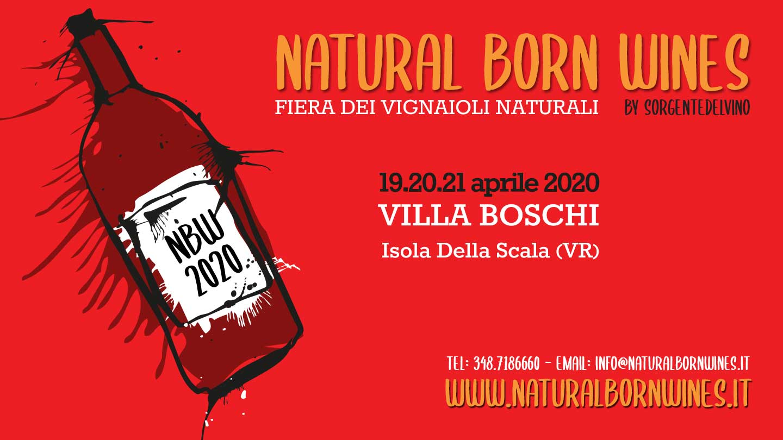 Confermato a Vinitaly l'evento Natural Born Wines dei Vignaioli Naturali