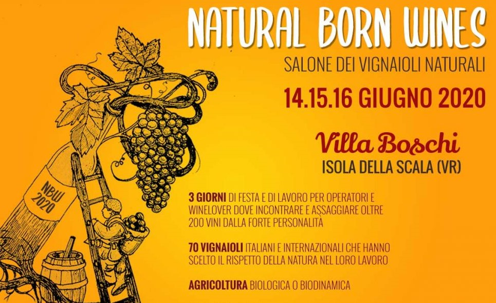 Spostato anche Natural Born Wines