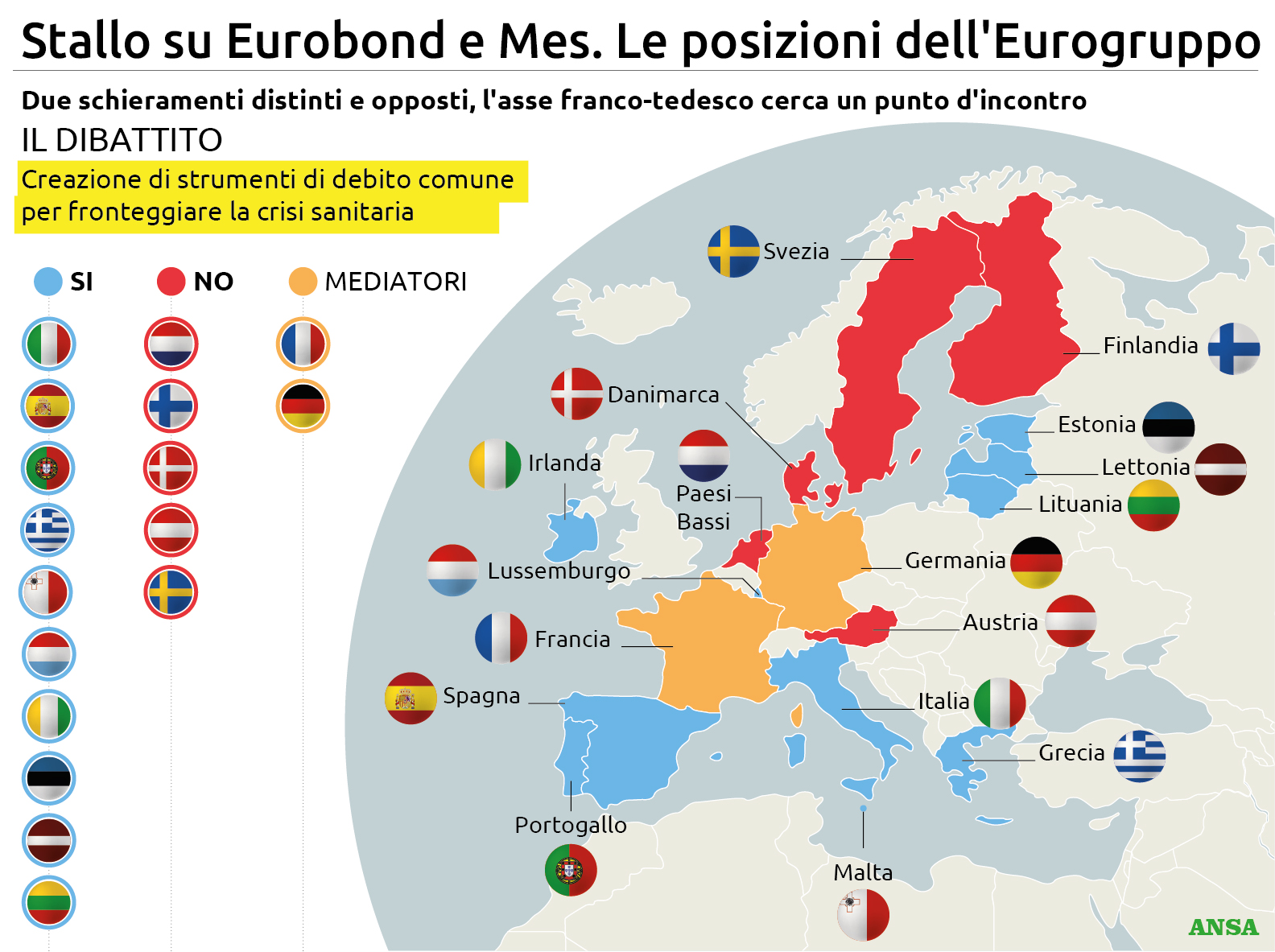 La cattiveria di quattro piccoli stati intralcia il benessere di tutta l'Europa