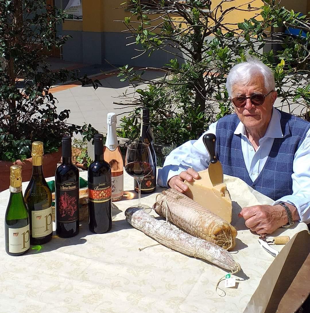 Buon Compleanno Carlo Gaggioli uno dei fondatori del Consorzio Colli Bolognesi