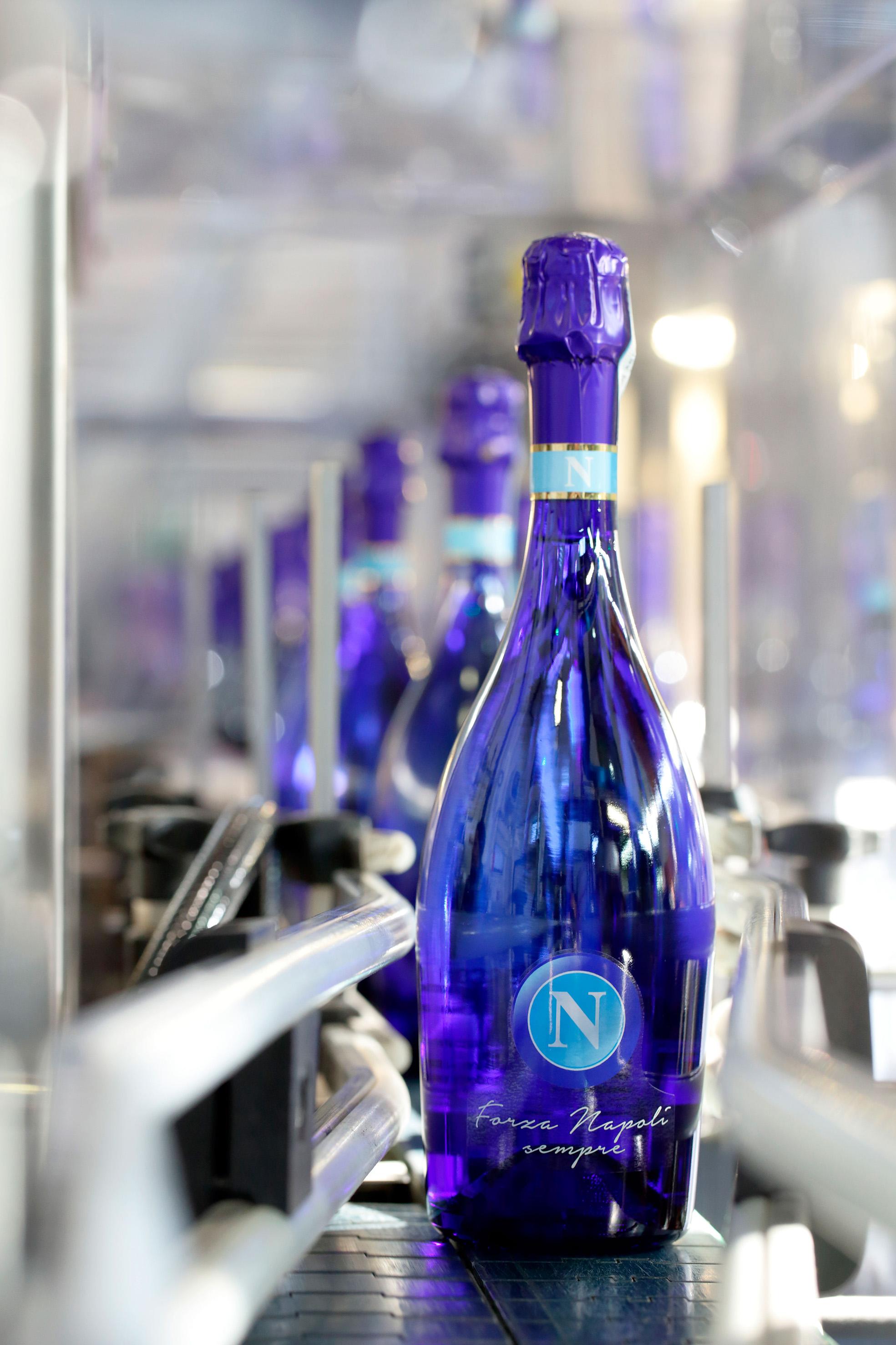 Bottega brinda alla Coppa Italia con il Prosecco dedicato al Napoli