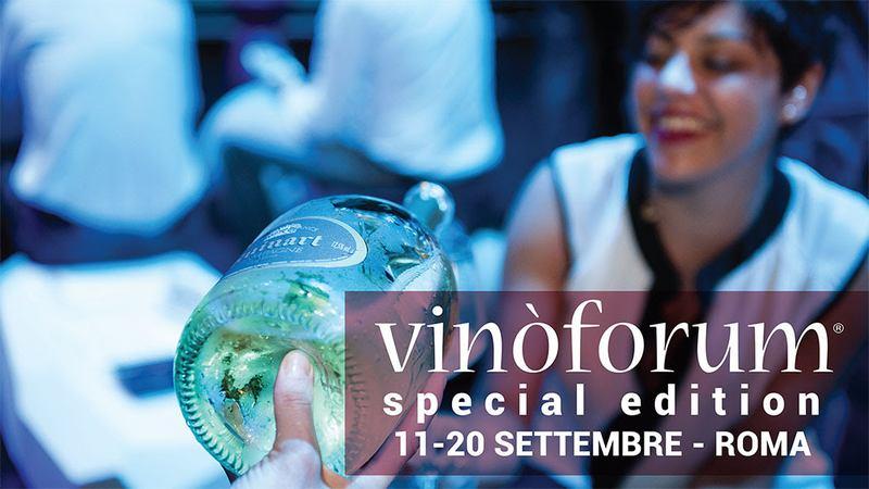 Vinòforum a Roma, presso il Parco Tor Di Quinto dall'11 Al 20 settembre 2020
