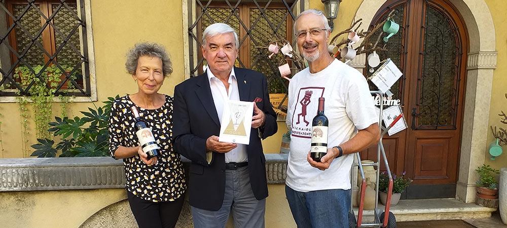Premiato il Cabernet francQuartella annata 2015 fiore all'occhiello di Longariva