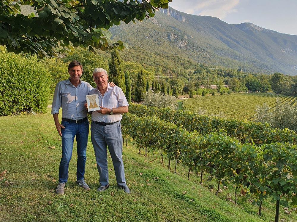 """Premiata la """"Foja Tonda"""" casetta, antico vitigno della Vallagarina"""
