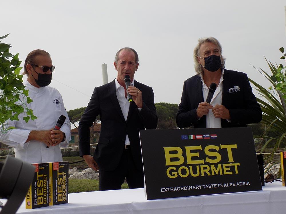 Best Gourmet 2020 gli Award li consegna il Governatore Luca Zaia