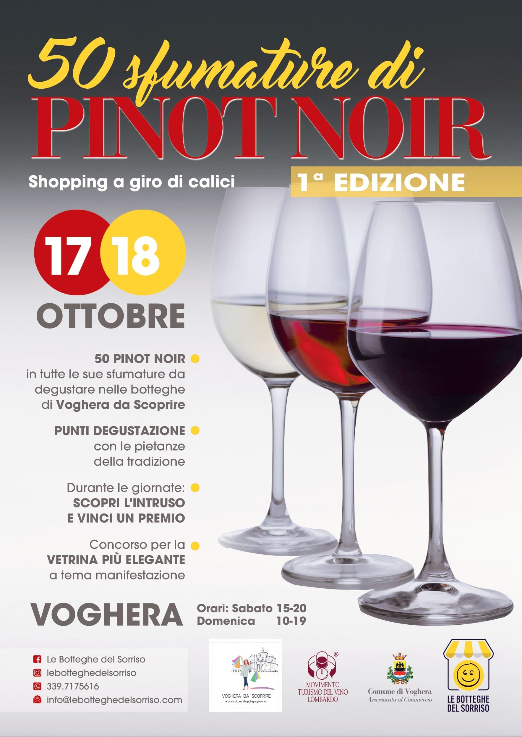 50 sfumature di Pinot Nero dell'Oltrepò  Pavese