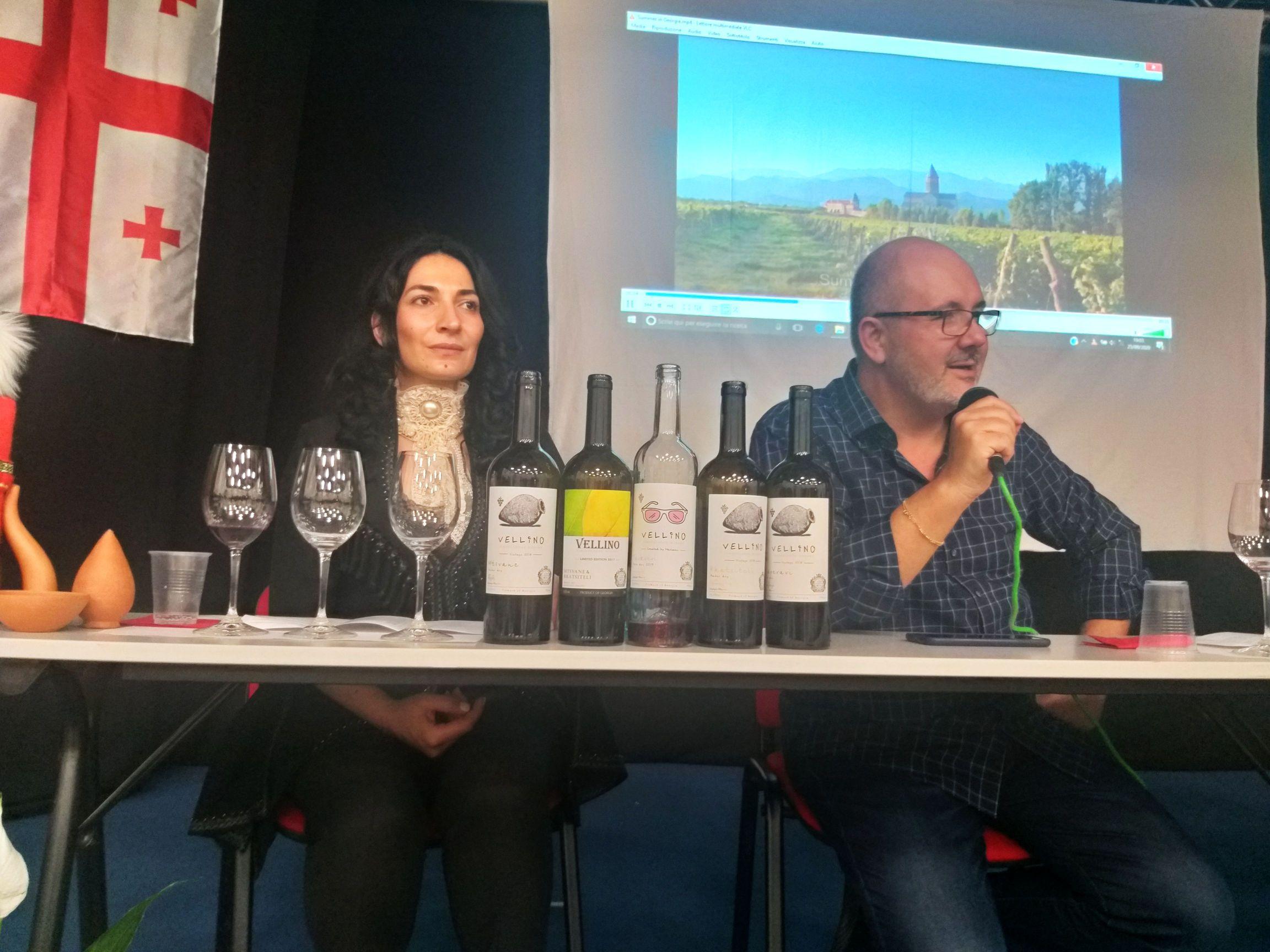 Finalmente anche a Roma la Georgia del vino si può