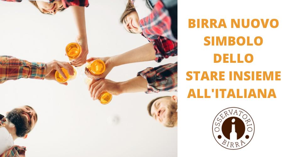 Birra e socializzazione con il Covid