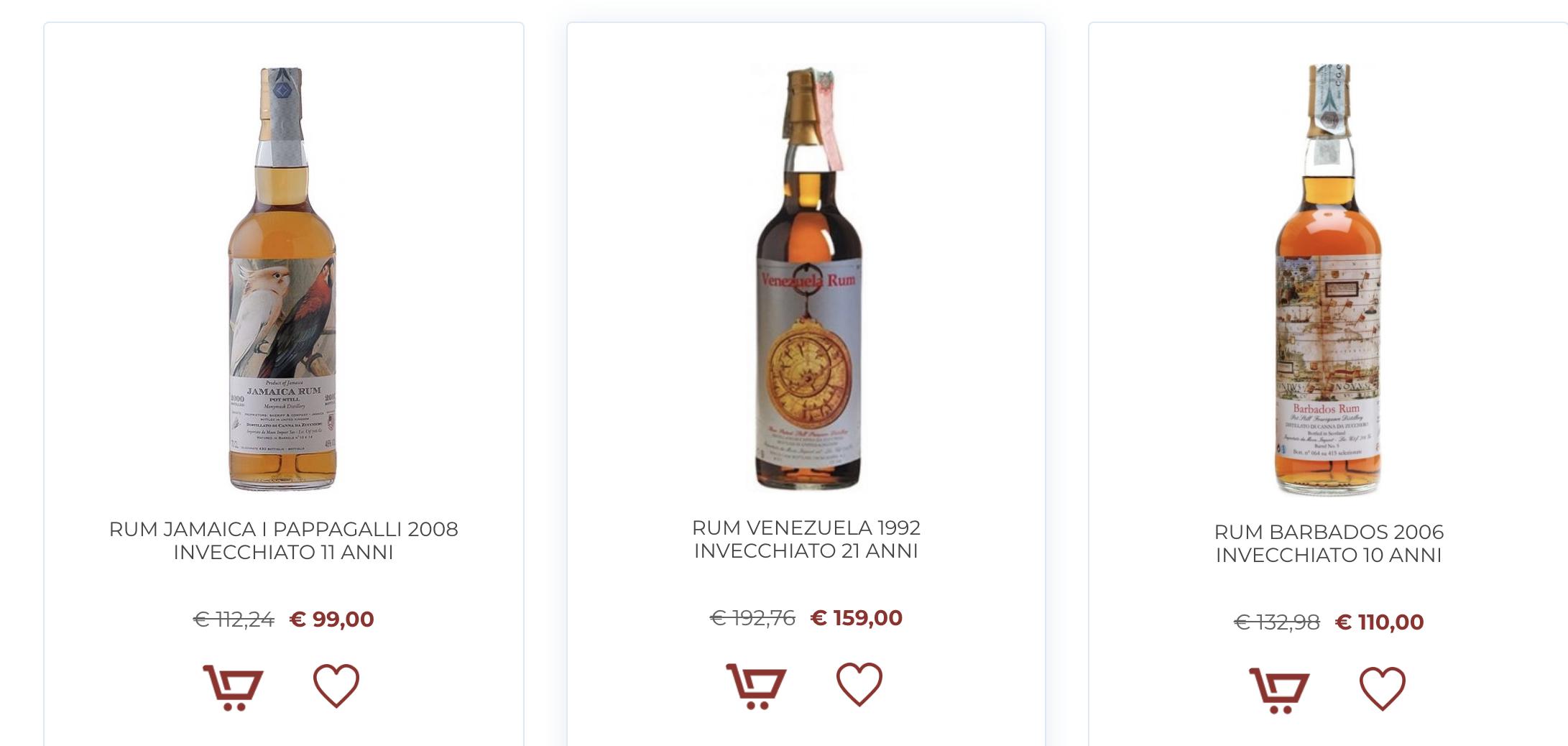 Quali sono i migliori Rum al mondo e dove comprarli online
