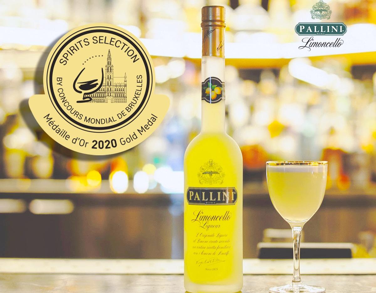 Photo of Il Limoncello Pallini ottiene la Medaglia d'Oro al Concours Mondial de Bruxelles
