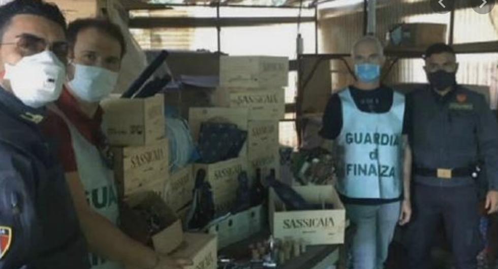Photo of L'ICQRF di Pisa ha scoperto un traffico di falso Sassicaia