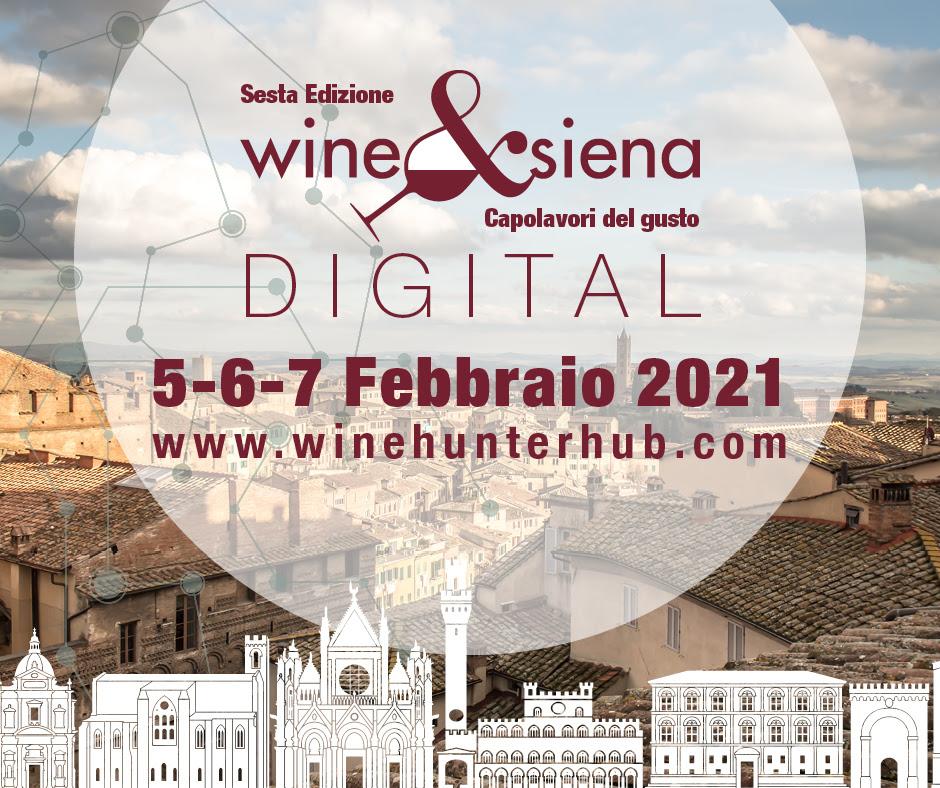 Photo of Wine&Siena digital 2021